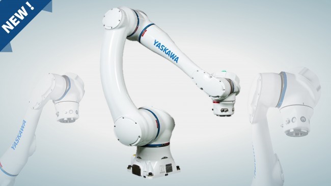 Yaskawa launches its new collaborative robot HC20DT