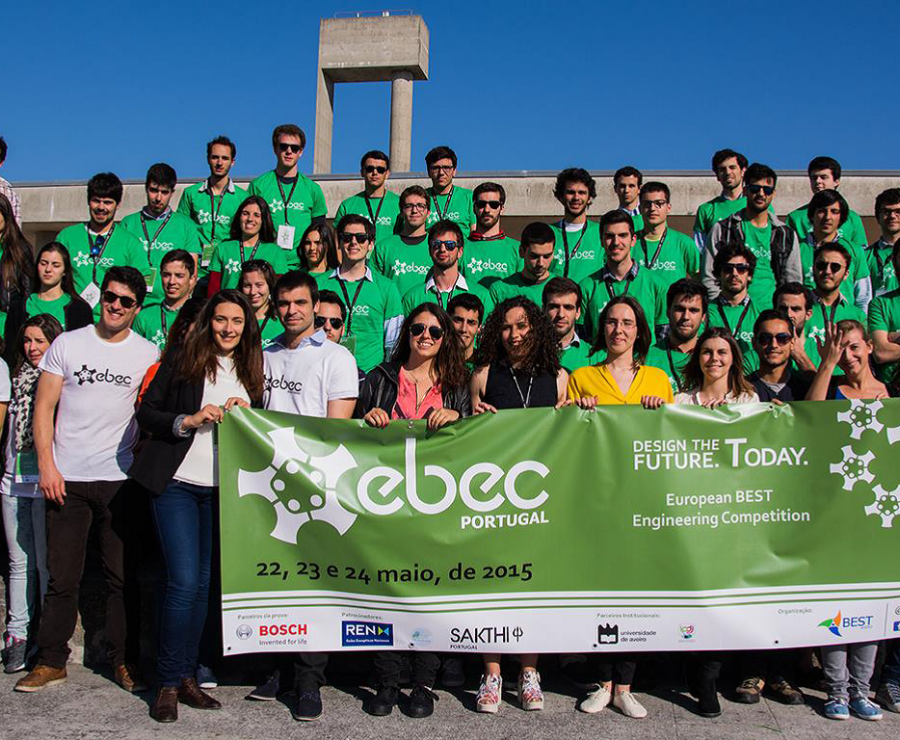 Teams from the University of Aveiro will represent Portugal in the European BEST Engineering Competition
