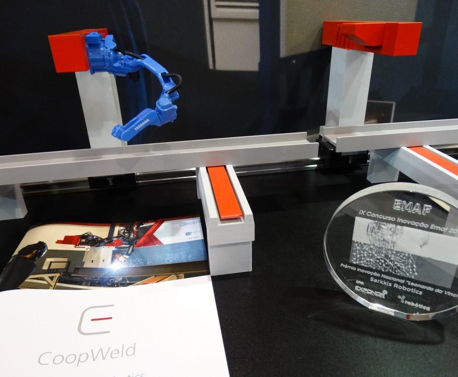 Sarkkis Robotics vence prémio inovação com robot Yaskawa Motoman MA1440
