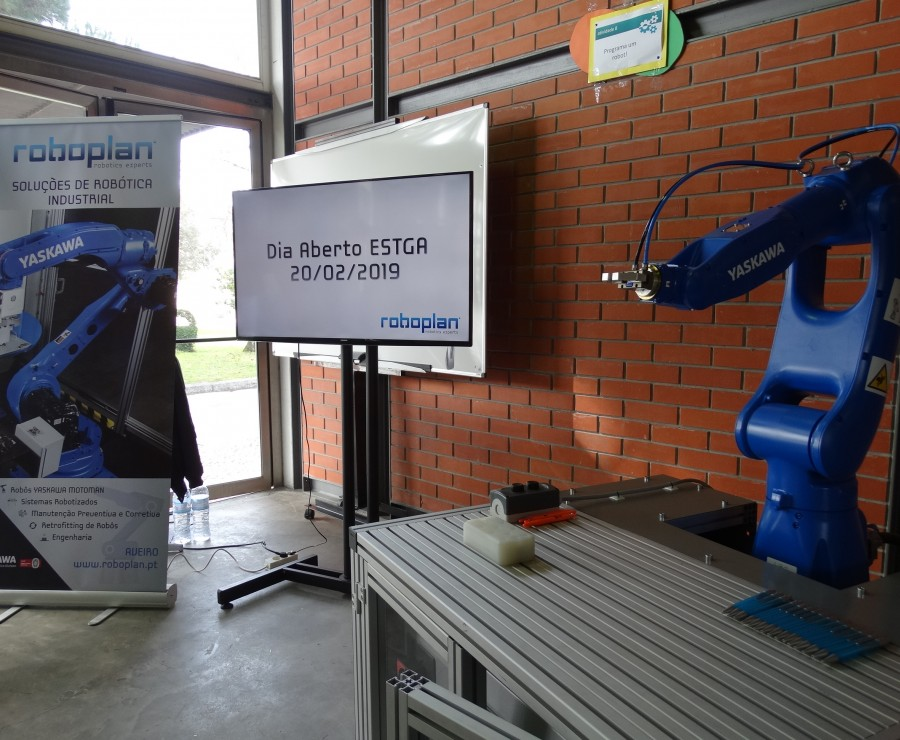 ROBOPLAN PARTICIPATES IN THE OPEN DAY OF ESTGA-UA