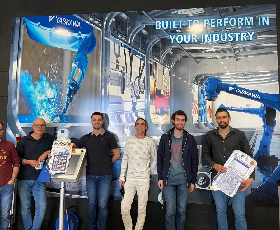 Equipa Técnica da Roboplan realiza formação certificada Yaskawa