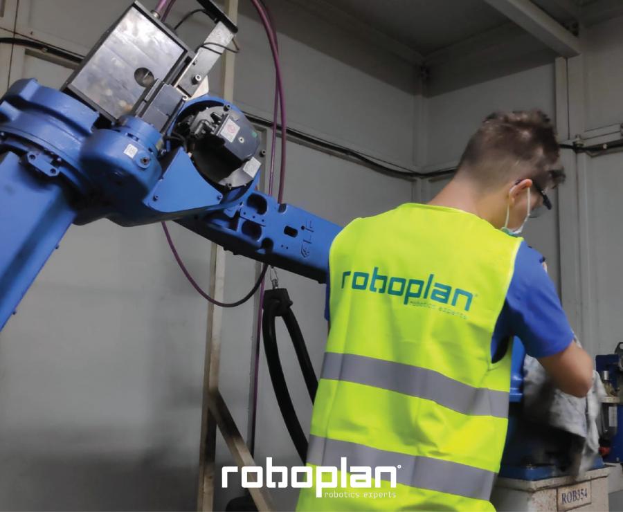 EQUIPA DA ROBOPLAN REALIZOU MANUTENÇÕES PREVENTIVAS A MAIS DE 200 ROBOTS NO VERÃO DE 2021
