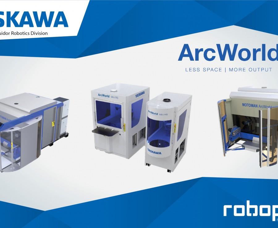 Yaskawa expands its ArcWorld range