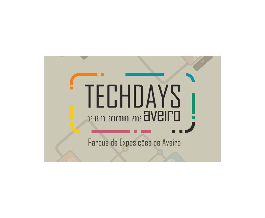 ROBOPLAN WILL BE PRESENT AT TECHDAYS AVEIRO 2016