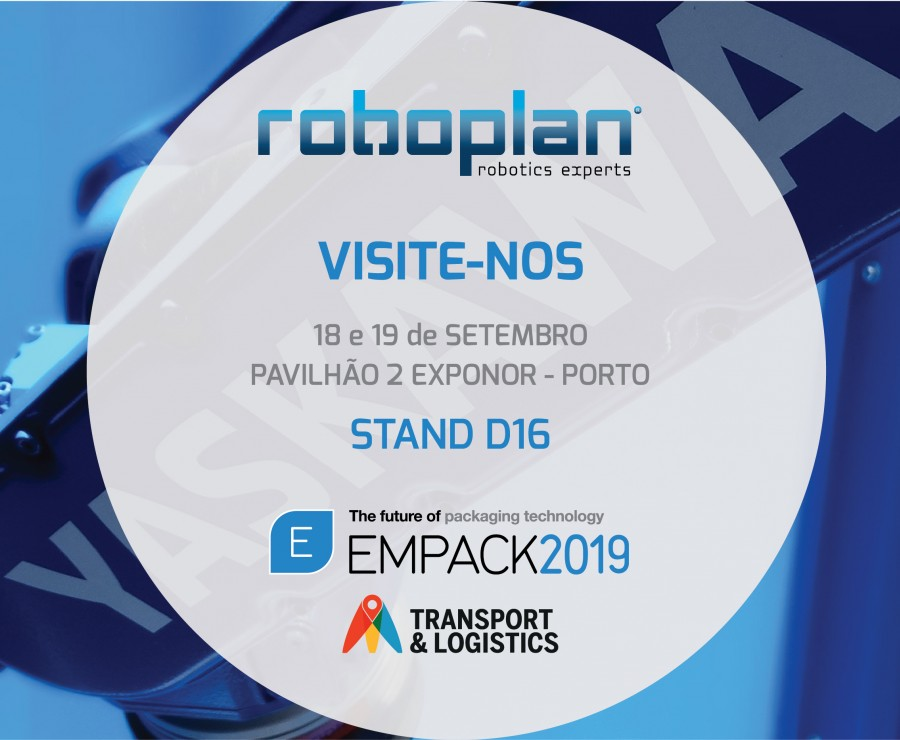 Roboplan will be present at Empack 2019